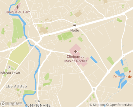Localisation UGECAM Occitanie - 34174 - Castelnau-le-Lez