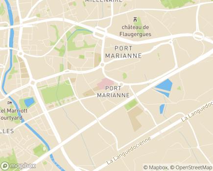 Localisation Clinique du Millénaire - 34960 - Montpellier