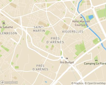 Localisation Maisons de Famille Montpellier - 34070 - Montpellier