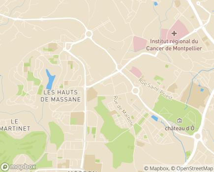 Localisation Groupe Adène - HAD Montpellier - 34080 - Montpellier