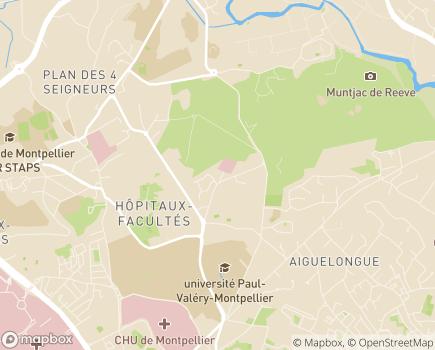 Localisation Emera - EHPA|EHPAD Maisonnée Lavalette - 34000 - Montpellier