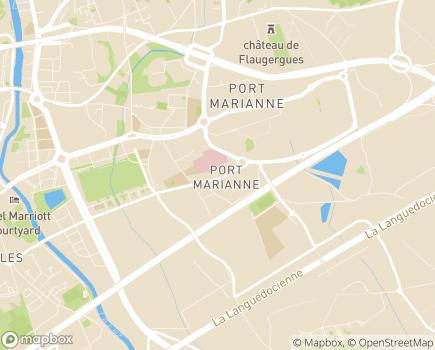 Localisation HAD Home Santé - 34000 - Montpellier