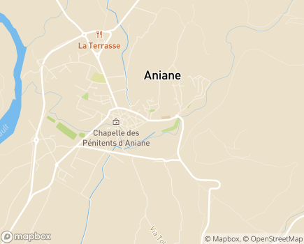 Localisation Résidence Services La Farandole - 34150 - Aniane