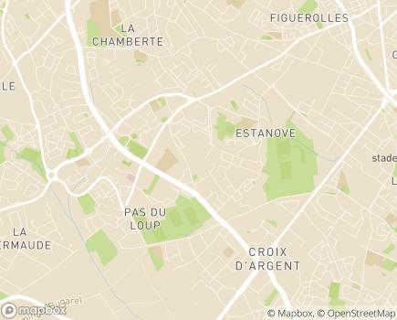 Localisation Résidence Le Pré Fleuri - 34070 - Montpellier