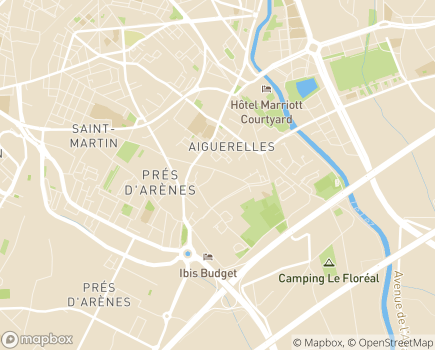 Localisation Domitys Les Sarments Blonds - Résidence avec Services - 34070 - Montpellier