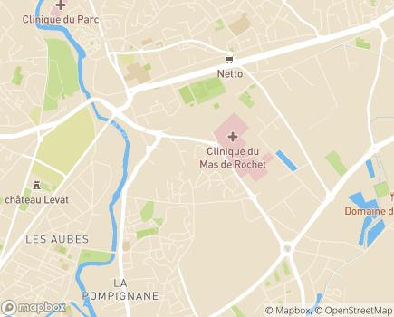 Localisation Domitys Le Sextant - Résidence avec Services - 34170 - Castelnau-le-Lez
