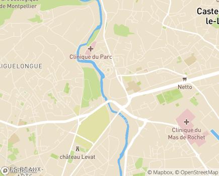 Localisation Résidence Services Séniors l'Apogée - 34170 - Castelnau-le-Lez