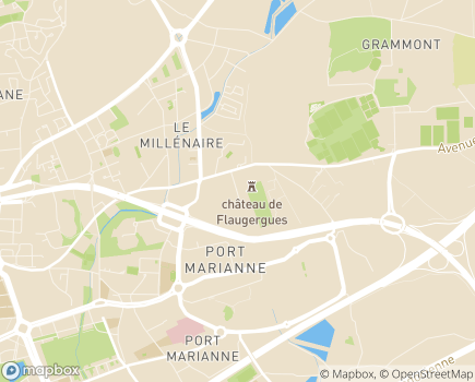 Localisation Résidence Services Séniors Le Flaugergues - 34000 - Montpellier