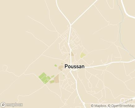 Localisation Résidence Services Séniors Le Domaine de Maleska - 34560 - Poussan