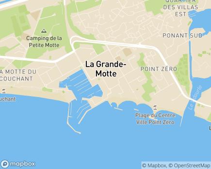 Localisation Sud Famille - 34280 - La Grande-Motte