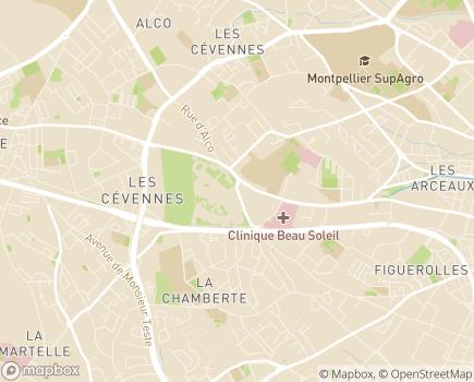 Localisation Cité des Aînés - Habitat Séniors - Groupe AÉSIO santé méditerranée - 34080 - Montpellier