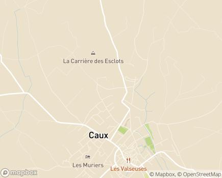 Localisation EHPAD Résidence Sainte-Clotilde - 34720 - Caux