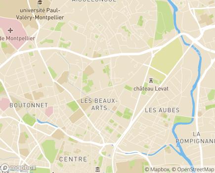 Localisation Armée du Salut ITEP et SESSAD, Institut Nazareth - 34093 - Montpellier