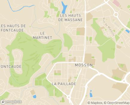Localisation Centre Médico-Éducatif de l'Enfance Fontcaude - 34080 - Montpellier