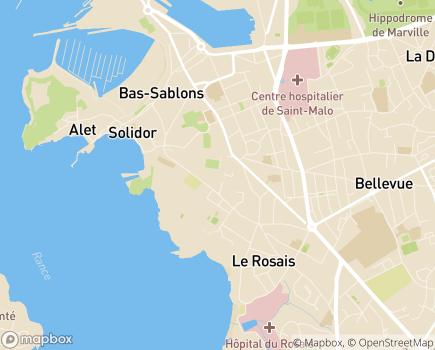 Localisation Korian Le Solidor - 35400 - Saint-Malo