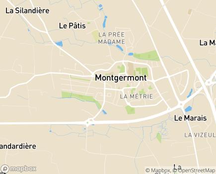 Localisation CLIC Noroit - 35760 - Montgermont