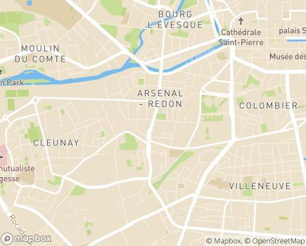 Localisation Espace et Vie Rennes La Mabilais, Résidence avec Services - 35000 - Rennes