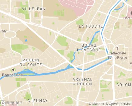 Localisation Plateforme d'Accompagnement et de Répit - EHPAD Saint Cyr - 35000 - Rennes