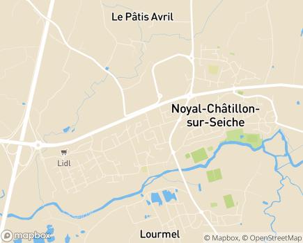 Localisation Résidence Kalon - 35230 - Noyal-Châtillon-sur-Seiche