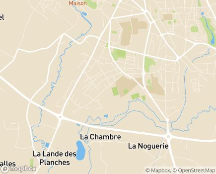 Localisation Association Posabitat - 35300 - Fougères