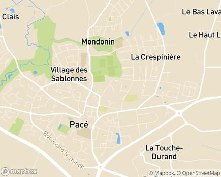 Localisation Résidence Les Nymphéas LNA Santé - 35740 - Pacé