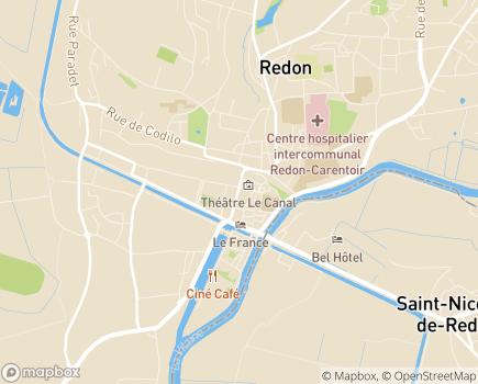 Localisation Centre Communal d'Action Sociale - 35600 - Redon