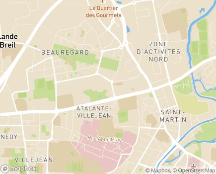 Localisation Département d'Ille-et-Vilaine - 35042 - Rennes