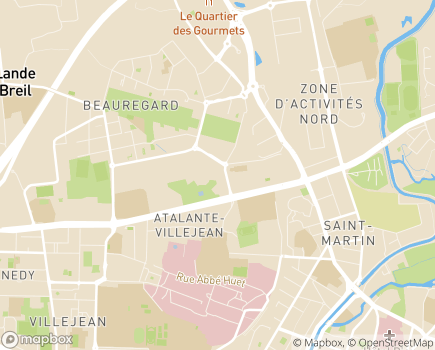 Localisation Pôle Solidarité Humaine - 35042 - Rennes