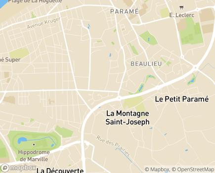 Localisation EHPAD Le Plessis Pont Pinel - 35407 - Saint-Malo