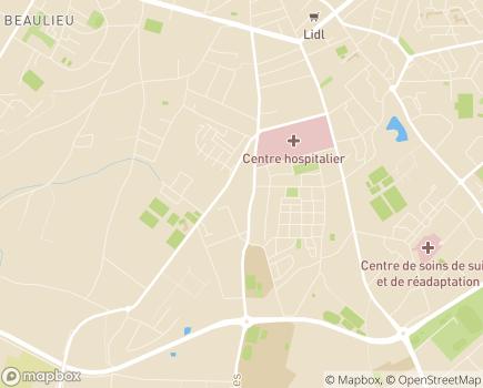Localisation EHPAD la Charmée - 36000 - Châteauroux