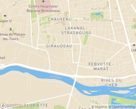 Localisation Présence Verte Touraine - 37000 - Tours