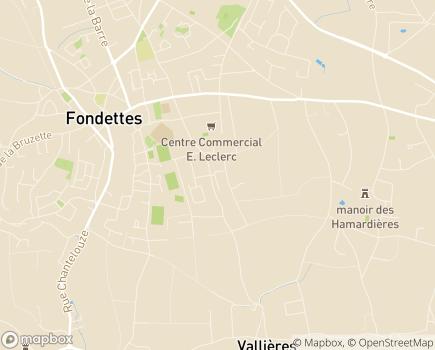 Localisation Domitys Le Clos de la Cheminée Ronde - Résidence avec Services - 37230 - Fondettes