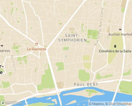 Localisation Domitys Le Parc Belmont - Résidence avec Services - 37100 - Tours