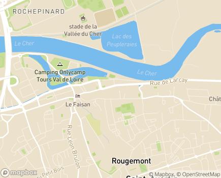 Localisation Au Sablier Services - 37550 - Saint-Avertin