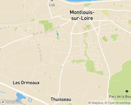 Localisation La Villa Éléonore LNA Santé - 37270 - Montlouis-sur-Loire