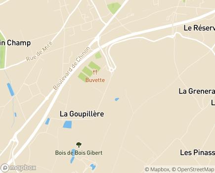 Localisation FEHAP Centre-Val de Loire - 37510 - Ballan-Miré