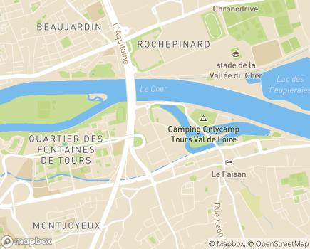 Localisation Sous Mon Toit - 37550 - Saint-Avertin