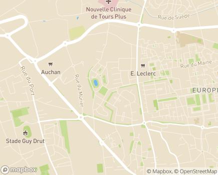 Localisation Korian La Ménardière - 37540 - Saint-Cyr-sur-Loire