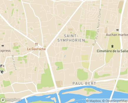 Localisation Résidence du Bel Age - 37100 - Tours