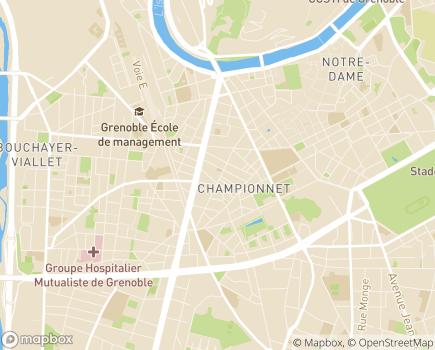 Localisation Villa Sully - 38000 - Grenoble