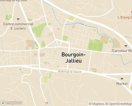 Localisation Résidence avec Services Les Girandières - 38300 - Bourgoin-Jallieu