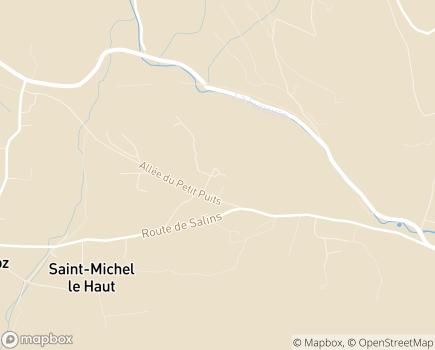 Localisation Colisée - Résidence Artémis - 39110 - Salins-les-Bains