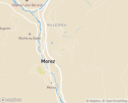 Localisation La Maison du Bois Joli - Foyer d'Accueil Médicalisé et Maison d'Accueil Spécialisée - 39400 - Morez