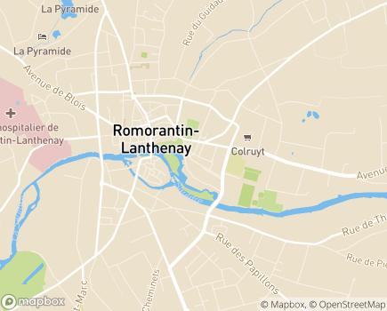 Localisation Domitys Le Jardin des Trois Rois - Résidence avec Services - 41200 - Romorantin-Lanthenay