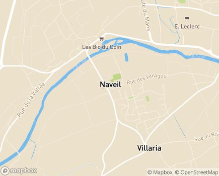 Localisation Association Théopolis 41 Résidence IRIS - 41100 - Naveil