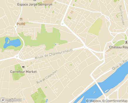 Localisation Domitys Les Comtes de Sologne - Résidence avec Services - 41000 - Blois