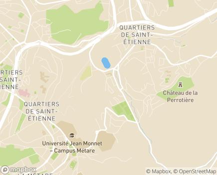 Localisation EHPAD Les Cèdres - 42100 - Saint-Étienne
