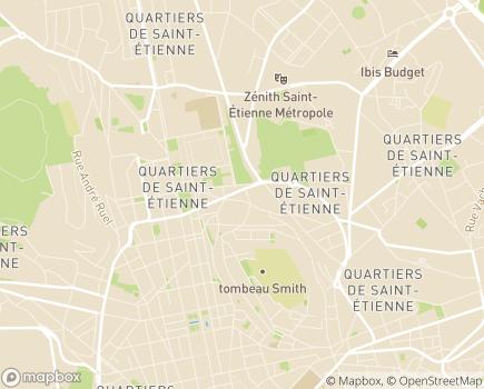 Localisation Korian Villa Janin - 42000 - Saint-Étienne