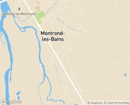 Localisation Domitys Le Parc Saint Germain - Résidence avec Services - 42210 - Montrond-les-Bains