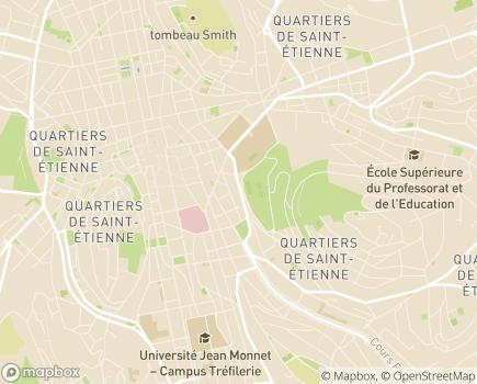 Localisation Résidence Villavie Les Jardins de l'Opéra - 42000 - Saint-Étienne